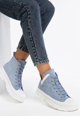 Mitera kék high-top sneakers